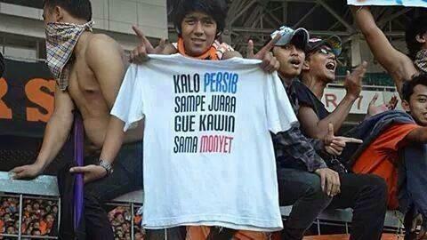 Sumpah Sekelompok Suporter Asal Jakarta Ini Yang Berjanji Akan Kawin Bersama Monyet Apabila Persib Juara