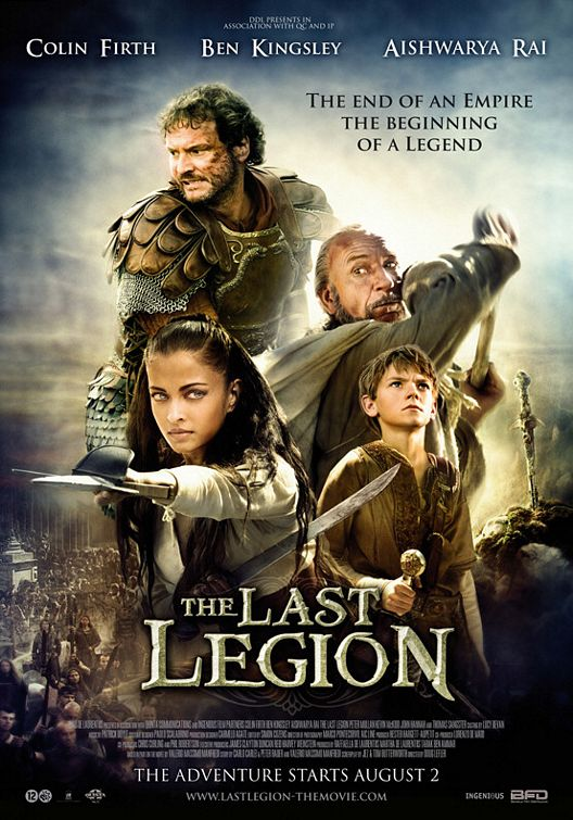 The Last Legion 2007 Dual Audio Hindi Eng BRRip 300mb