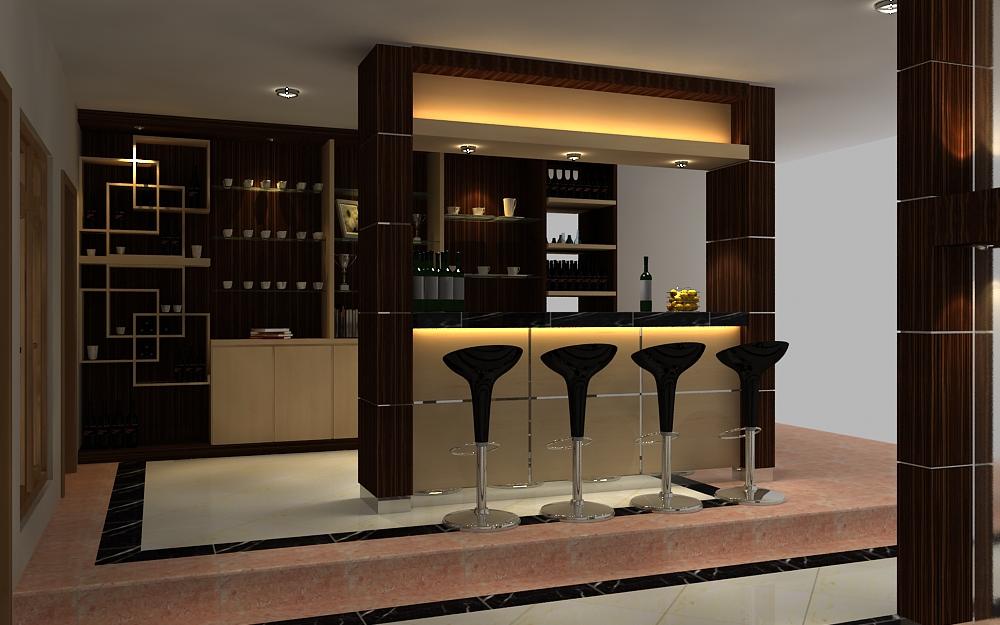 Innenarchitektur Design Haus Bar Design
