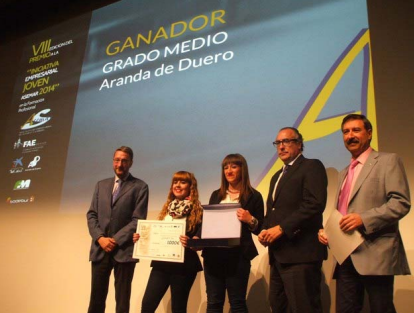 """Ganadores de los Premios a la """"Iniciativa Empresarial Joven ASEMAR 2014"""""""