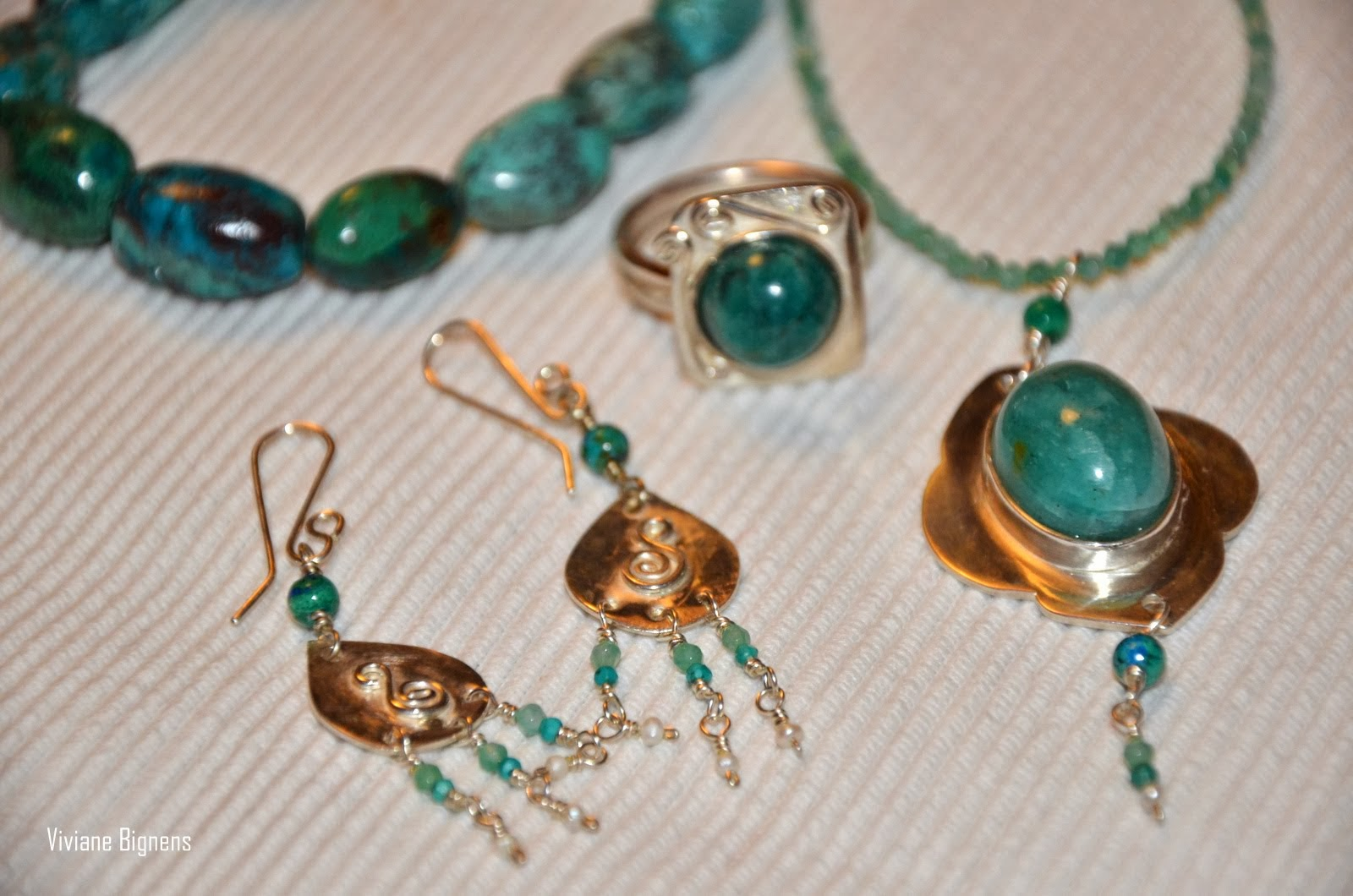 Suzanne Martin-Romero, bijoux mexicains, pierres naturelles, argent