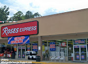 ROSES EXPRESS MILLEDGEVILLE GEORGIA old MAXWAY Store, (roses express milledgeville georgia old maxway store roses express department store baldwin county milledgeville ga)