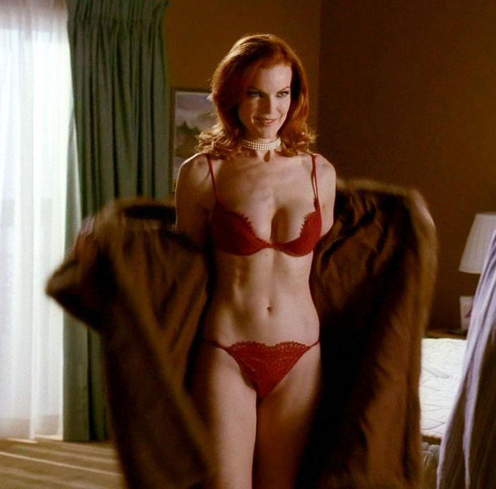 from Anderson marcia cross gay desperate housewives