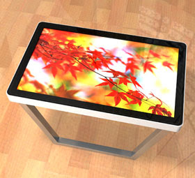The new revolutionary touch screen table!