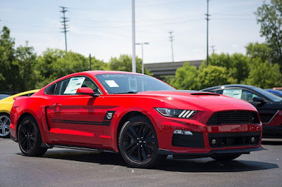 Roush Built A Military-Only Mustang For Military Serving Abroad