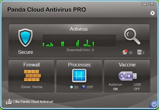 Panda Cloud Antivirus Pro 2014 With 6 Months Serial Key - License