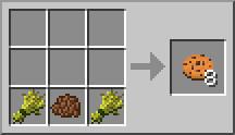 Minecraft рецепты