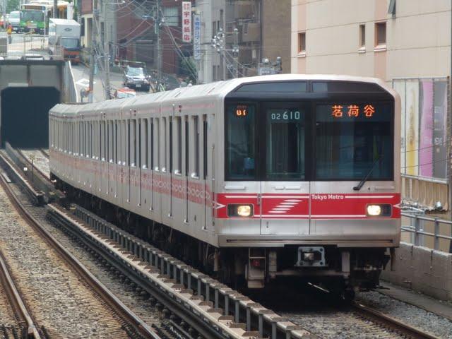 東京メトロ丸ノ内線 茗荷谷行き3 02系LEDサインウェーブ(平日7本運行)