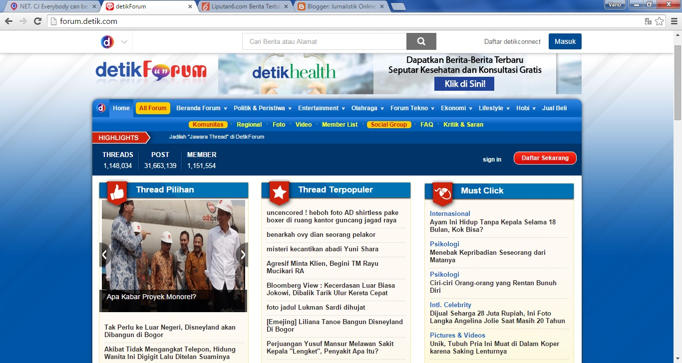 Jurnalistik Online Platform Citizen Jurnalism Cj Di Indonesia