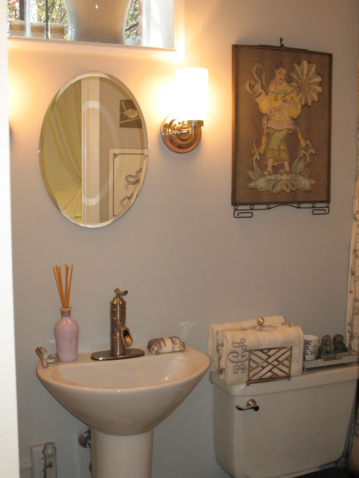 chinoiserie chic  one room challenge