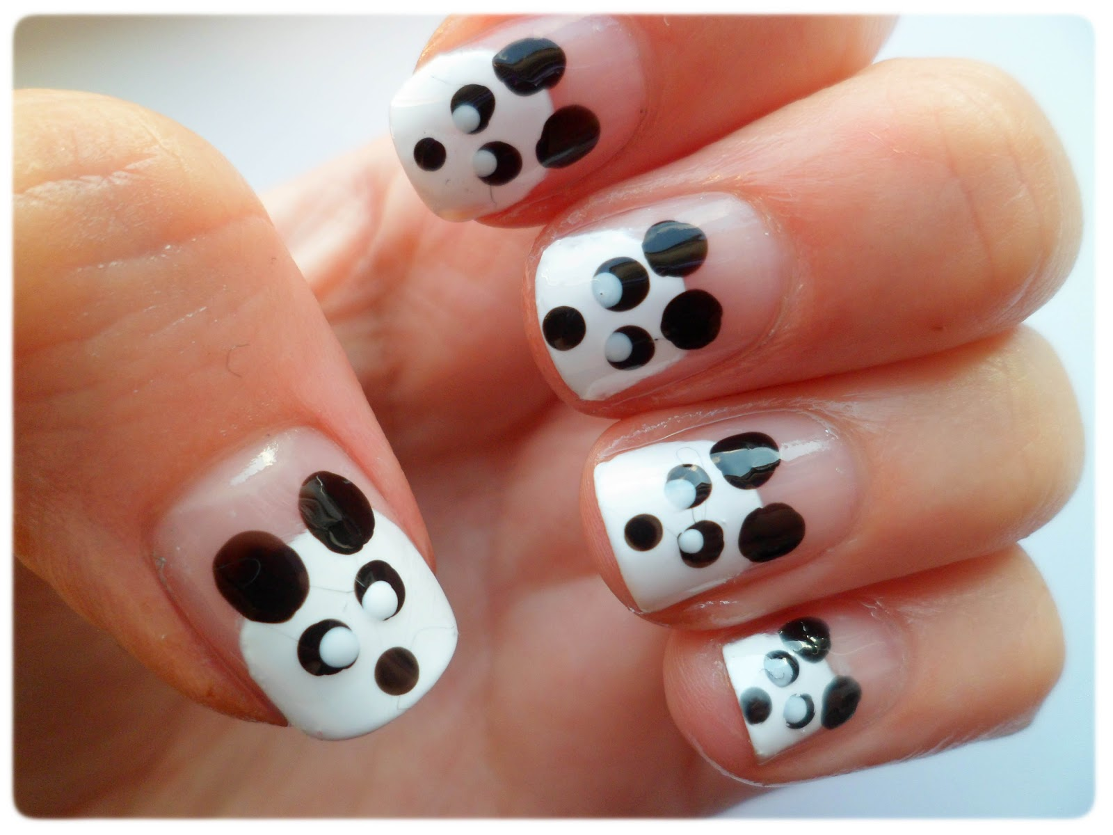 Lauras all made up uk beauty fashion lifestyle blog cute cute panda nail art prinsesfo Image collections