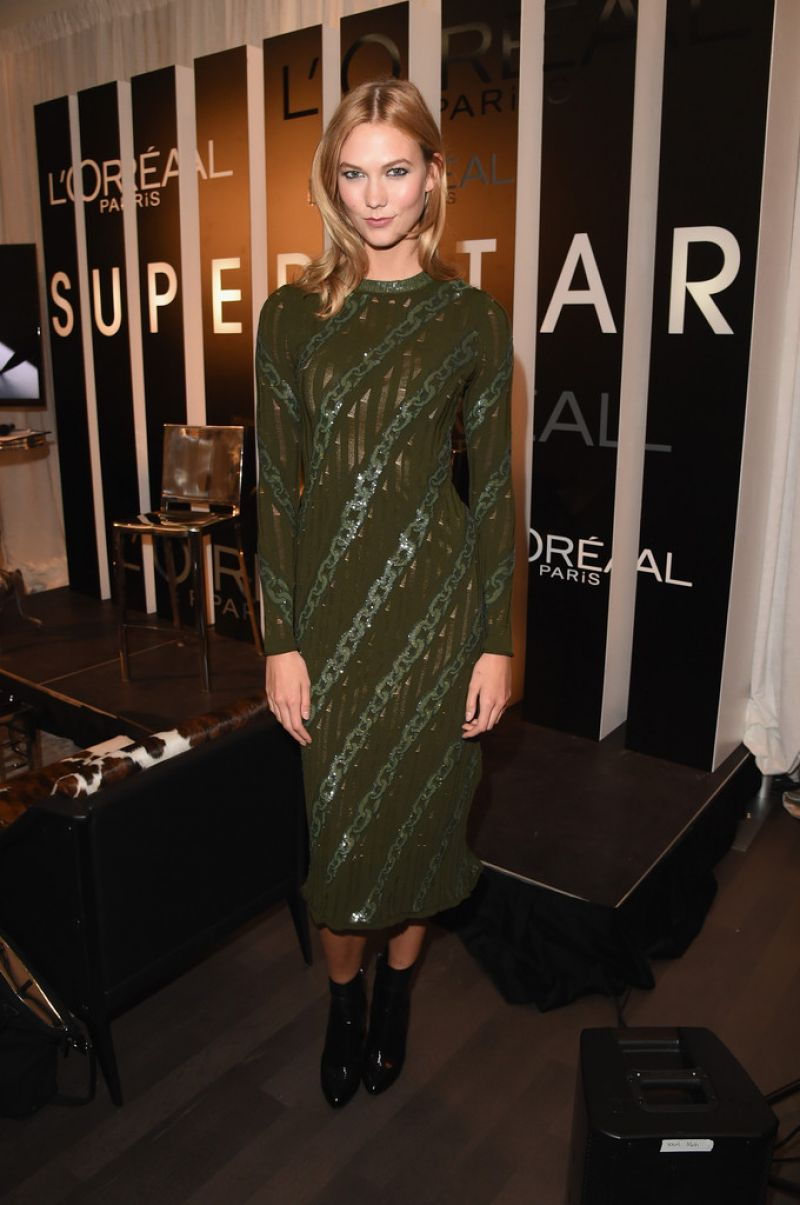Karlie Kloss makes a comeback to host L'Oreal Paris VIP cocktail reception