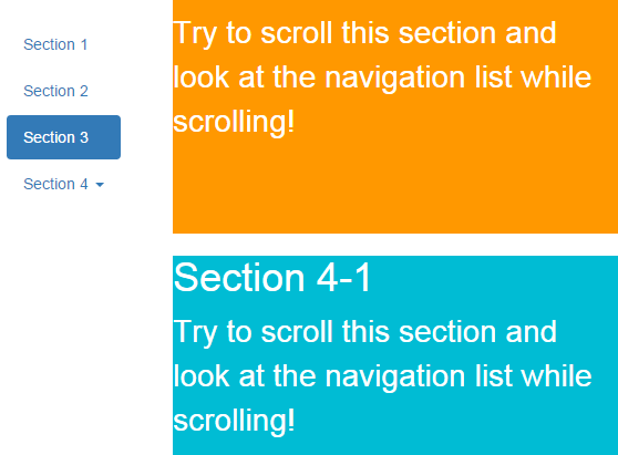 Infallible techie bootstrap scrollspy - Bootstrap scroll to div ...