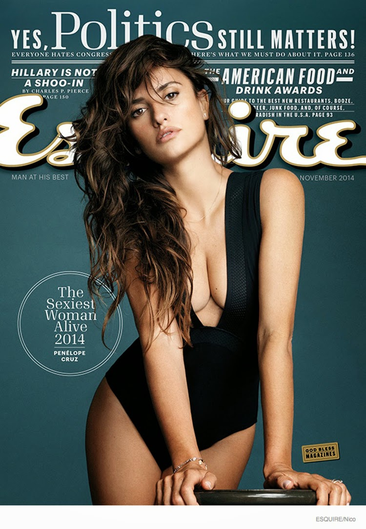 Penelope Cruz for Esquire Magazine November 2014 Issue