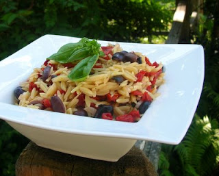 Summer Orzo Without Radicchio
