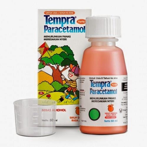 Tempra Forte Paracetamol Penurun Panas Anak Usia 6 Tahun Keatas