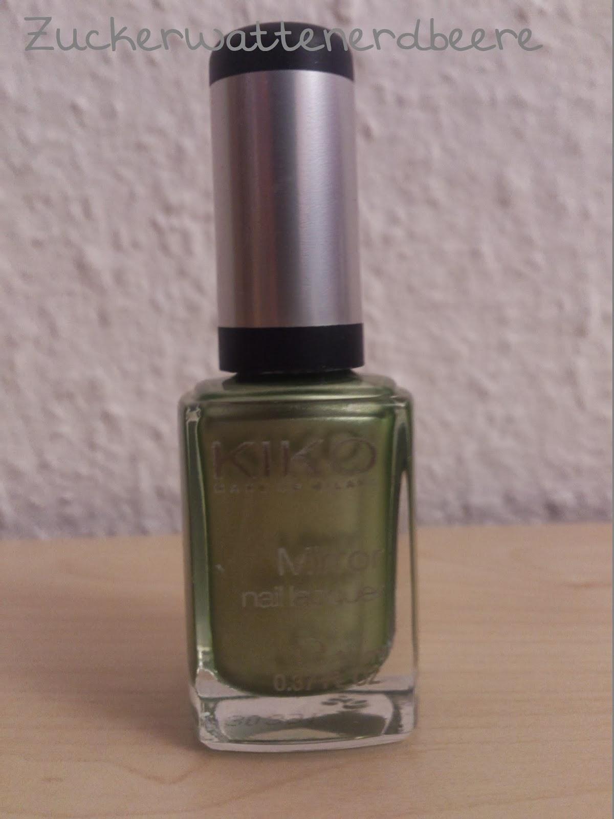 Kiko Mirror Nail Lacquer in der Farbe Lawn Green