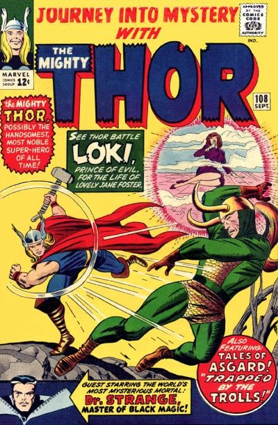 Journey Into Mystery #108, Thor vs Loki