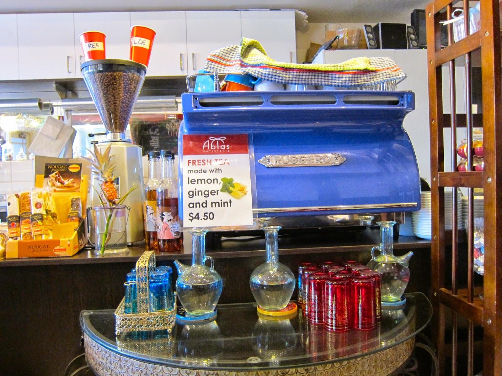 abla's patisserie prahran coffee machine