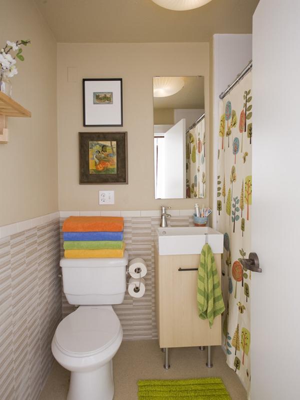 decorar banheiro simples : decorar banheiro simples:55 ideias para banheiros pequenos – Assuntos Criativos