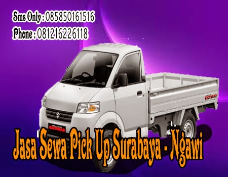 Jasa Sewa Pick Up Surabaya ke Ngawi