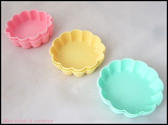 moules tartelettes silicone
