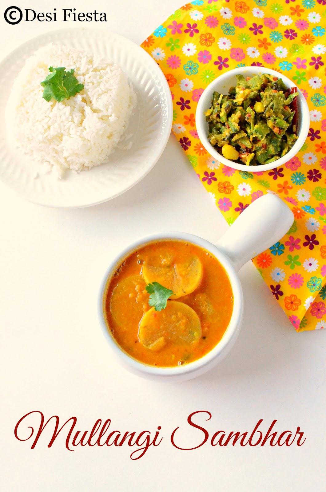 Sambhar Recipes for Lunch