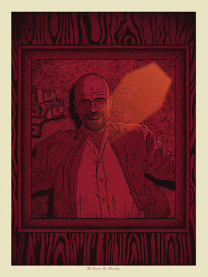 Breaking Gifs Limited Edition Breaking Bad Screen Prints - Heisenberg by Todd Slater