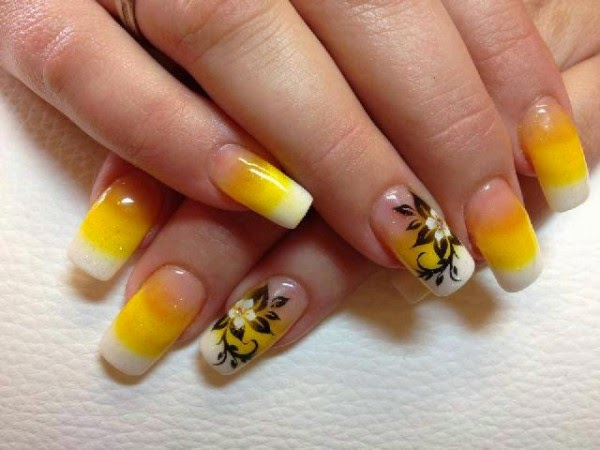 Cool Yellow Acrylic Nail Design Ideas Nail Designs 2 Die For