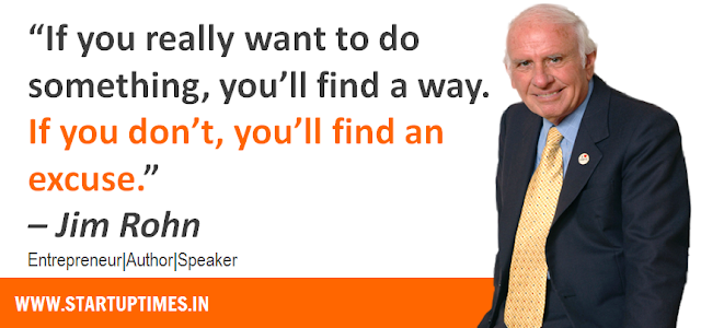 Jim Rohn Quotes for Startup Entrepreneurs