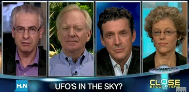 CNN Interviews UFO Panel - Nick Pope, Fife Symington, James Fox & Leslie Kean 8-24-11