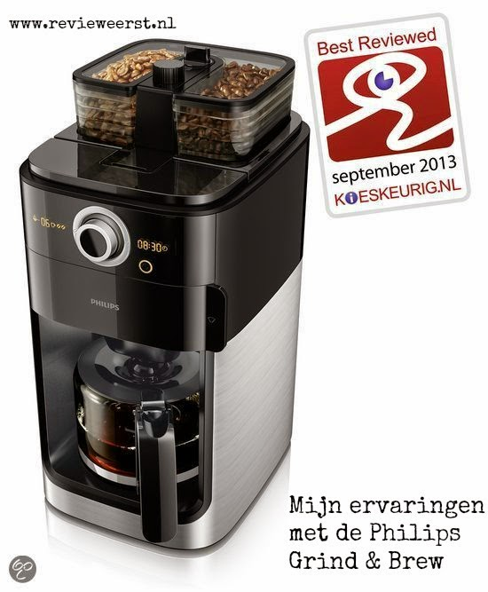philips koffiezetapparaat grind&brew