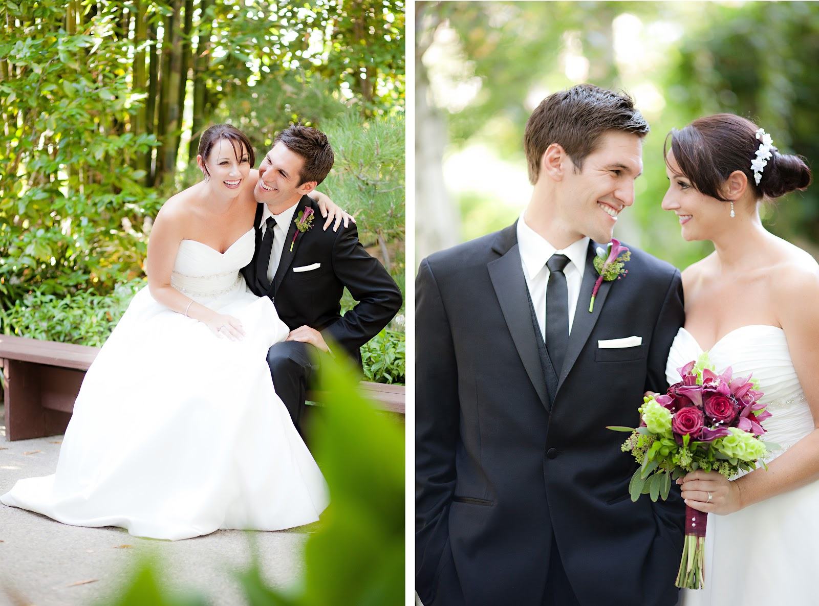 Choura Events: Japanese Garden Wedding