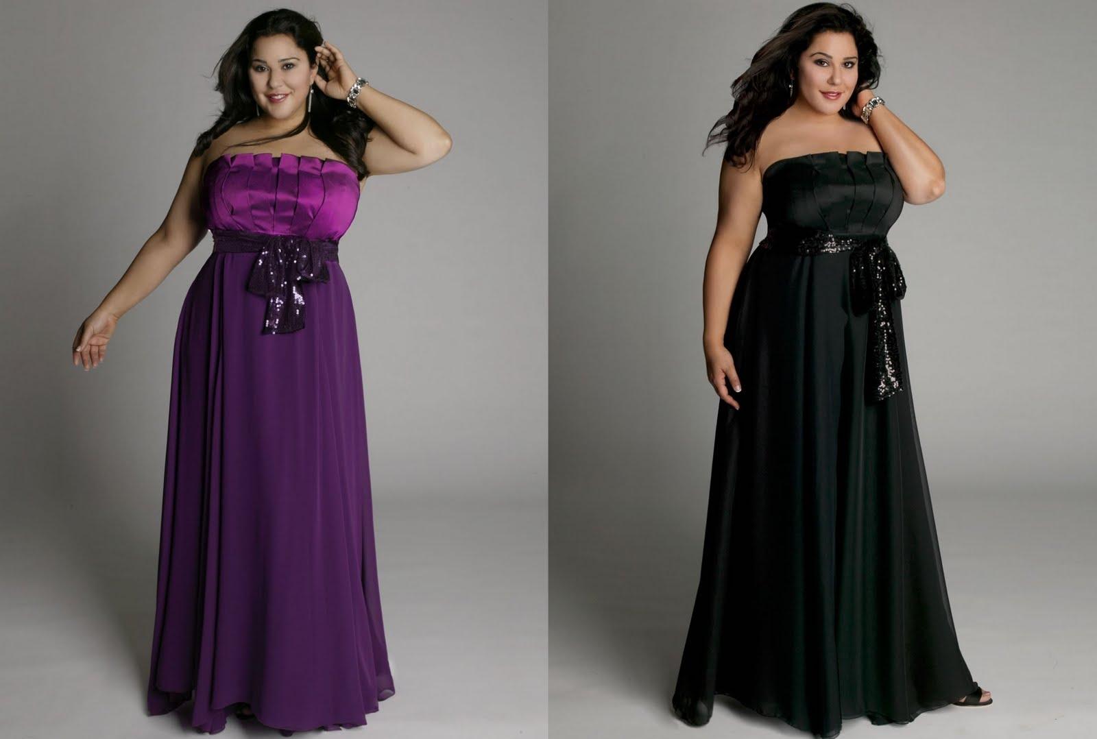Eu sou plus size!!: Vestidos de festa plus size.