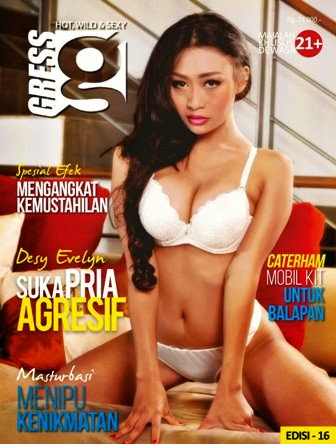 Download Gratis Magz Gress Magazine Edisi 16-2014 Free | Gress 16 Desy Evelyn, Suka Pria Agresif | Desy Evelyn, Putri Ramadhani, Ogrivia Ratih | www.insight-zone.com
