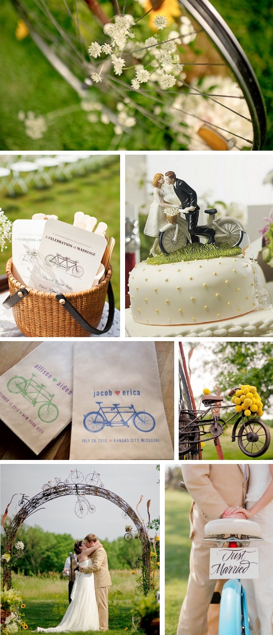Bicycle Wedding Inspiration Board
