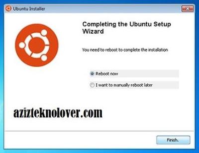 install ubuntu dengan wubi