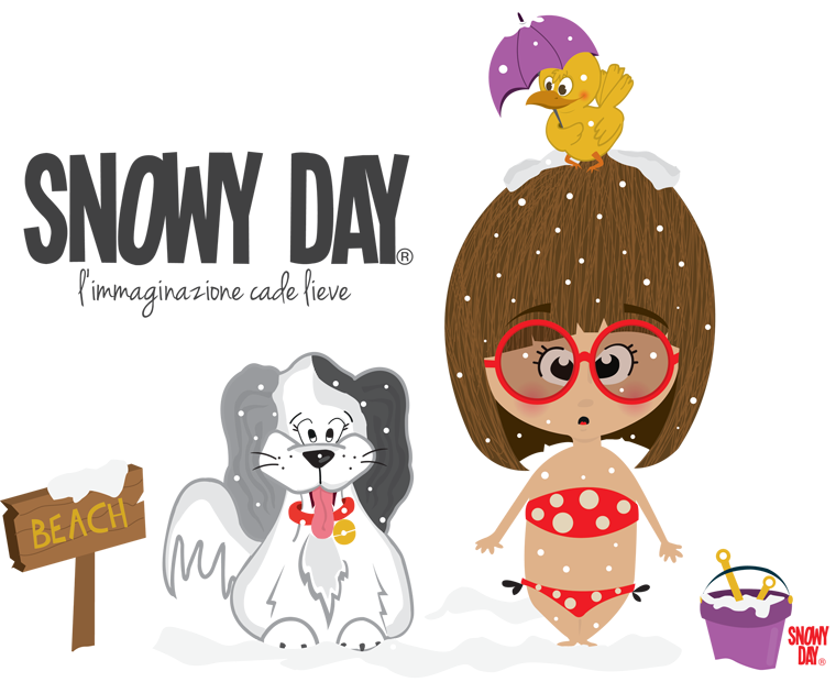 Snowy day illustrations