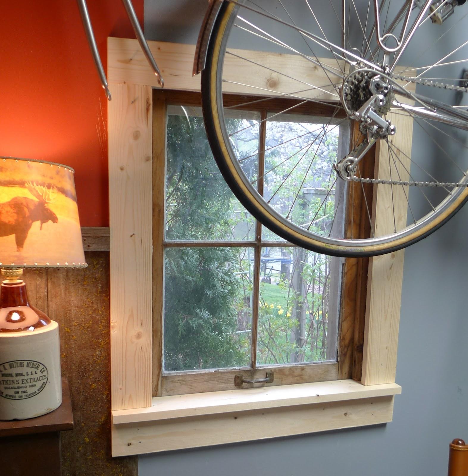1410 OakWooD: Window Framing and Knee Nailing