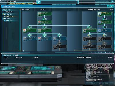 Phantasy Star Online 2 - Ranger Skill Tree