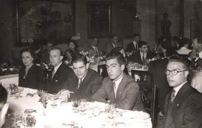 Comida de despedida del Match Internacional de Ajedrez Interclubs 1951 14