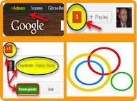 Google Plus ve G+1 kullanımı