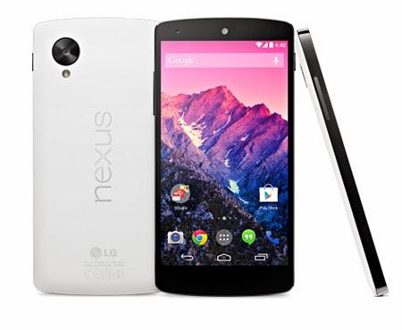 Comparatif Smartphone LG Nexus 5 4G Blanc