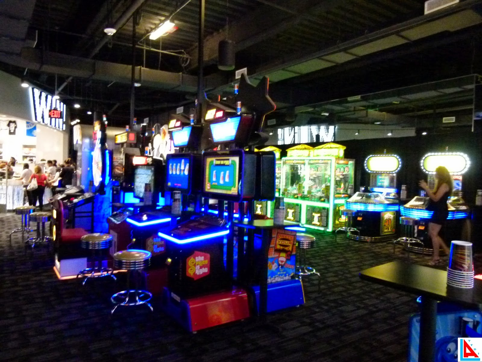 Dave And Busters Kids Party