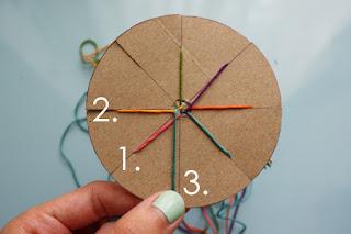 5 Renkli İplerden Bileklik Yapımı