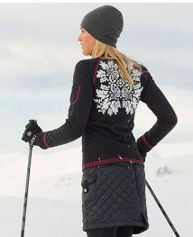 tall ski skirt