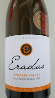 Eradus Sauvignon Blanc 2014 - Awatere Valley, Marlborough, South Island, New Zealand (88+ pts)