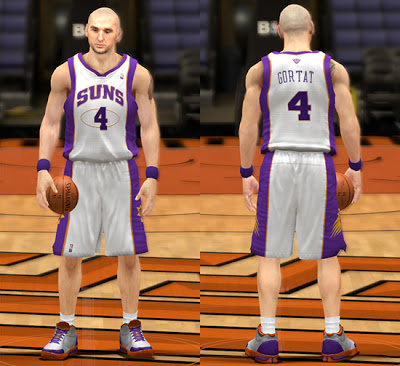 NBA 2K13 Phoenix Suns Home Jersey Patch