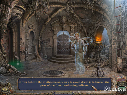 Haunted Manor: Queen of Death Collector's Edition screenshot 1