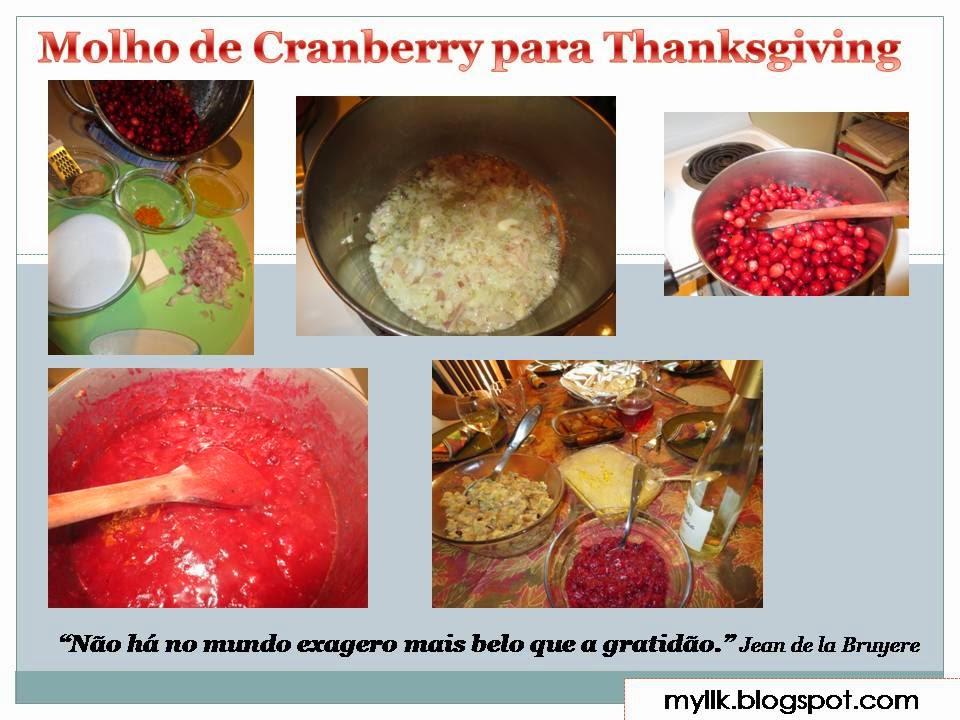 Molho de Cranberry